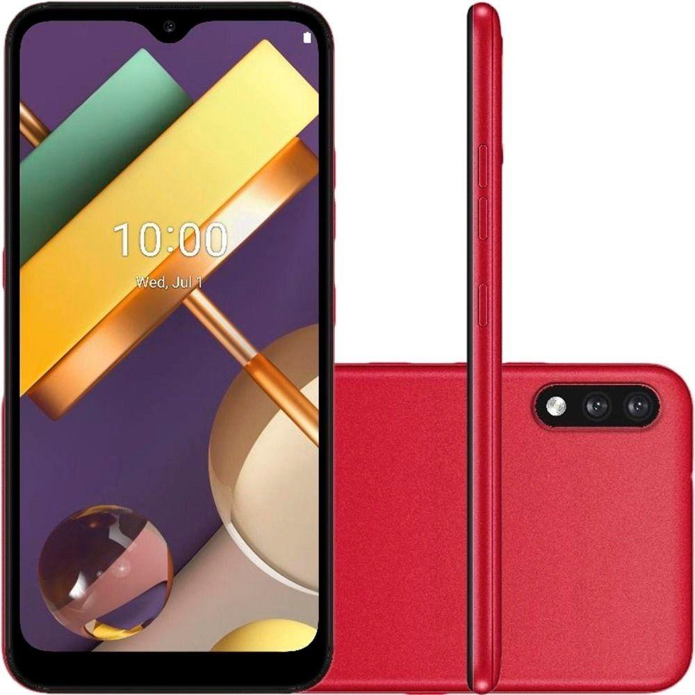 Celular Smartphone LG K22+ 64gb Vermelho - Dual Chip